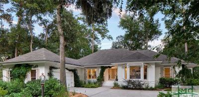 Savannah Single Family Home For Sale: 1 Oyster Reef Road