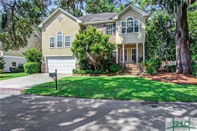 Savannah Single Family Home For Sale: 24 Dockside Drive