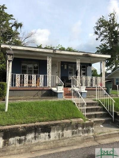 Savannah Single Family Home For Sale: 14 Stirling Street
