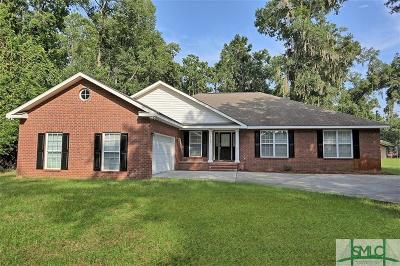 Savannah Single Family Home For Sale: 14402 Coffee Bluff Road