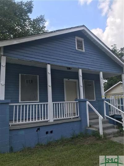 Savannah Single Family Home For Sale: 217 Cumming Street