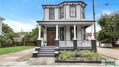 Savannah Single Family Home For Sale: 219 W 33rd Street