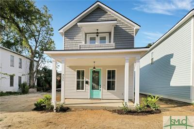 Savannah Single Family Home For Sale: 731 E 39th Street