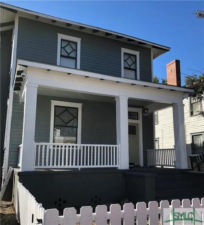 Savannah Single Family Home For Sale: 763 E Duffy Street