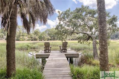 Savannah Single Family Home For Sale: 15 Cedar View Drive