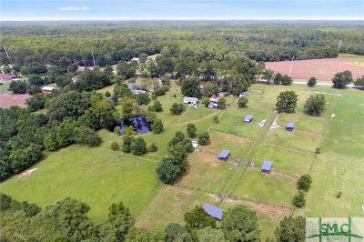 Rincon Single Family Home For Sale: 1752 Ebenezer Road