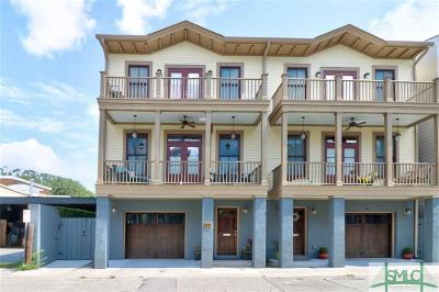Savannah Condo/Townhouse For Sale: 314 Lorch Street