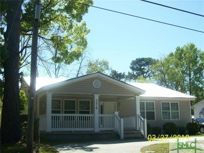 Savannah Single Family Home For Sale: 3216 Martha Street