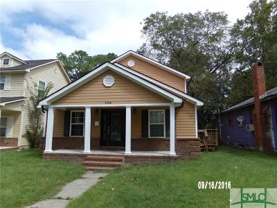 Savannah Single Family Home For Sale: 826 E 33rd Street