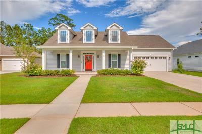 Savannah Single Family Home For Sale: 72 Harvest Moon Drive