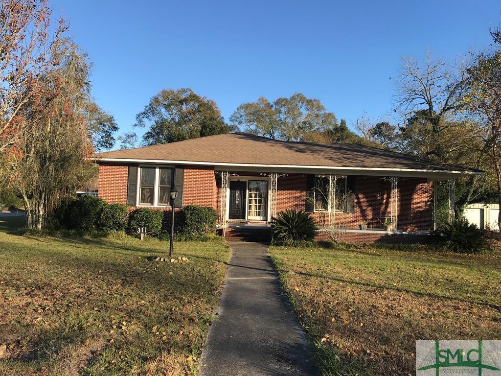 311 Caswell, Glennville, GA, 30427, Glennville Home For Sale