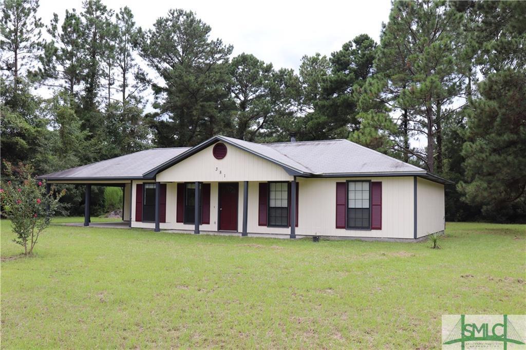 381 Whitaker, Clyo, GA, 31303, Clyo Home For Sale