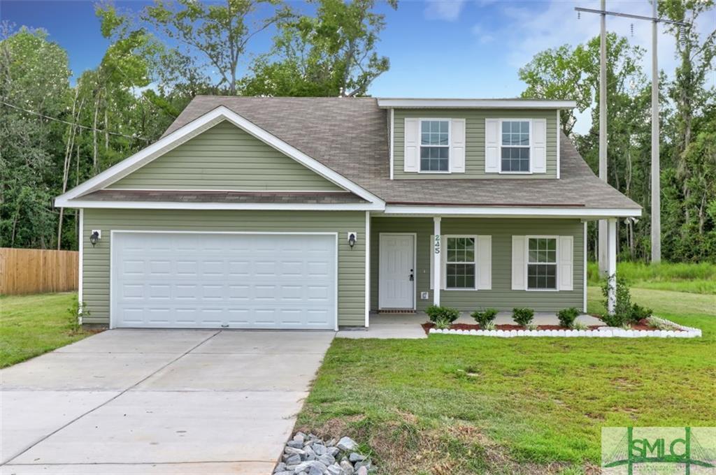 245 Bonnie, Ellabell, GA, 31308, Ellabell Home For Sale