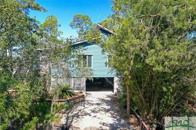 Tybee Island GA Single Family Home For Sale: $575,000
