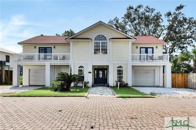 Tybee Island GA Single Family Home For Sale: $579,000
