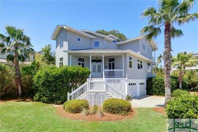 Tybee Island GA Single Family Home For Sale: $1,399,000