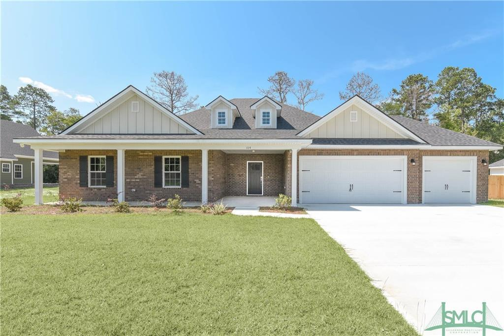 104 Palmer Place, Ludowici, GA, 31316, Ludowici Home For Sale
