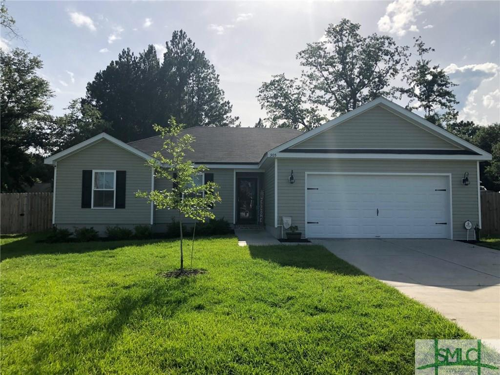 305 White Willow, Springfield, GA, 31329, Springfield Home For Sale