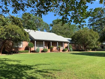 Waycross Single Family Home For Sale: 1606 Marshall Drive