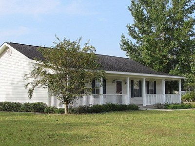 Blackshear GA Single Family Home For Sale: $139,900