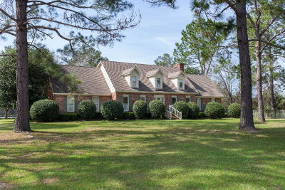 Waycross Single Family Home For Sale: 125 Plantation Dr