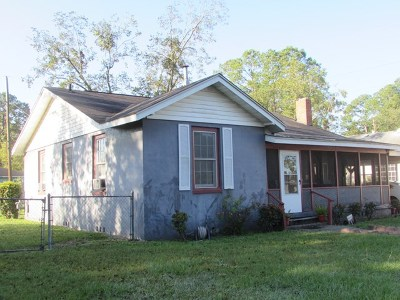 Waycross GA Single Family Home For Sale: $45,000