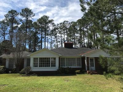 Homerville Single Family Home For Sale: 252 South College Streeet