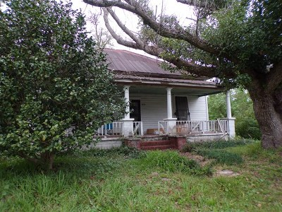 Waycross GA Single Family Home For Sale: $12,500
