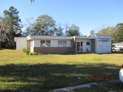 Blackshear Commercial For Sale: 707 Cameron Dr
