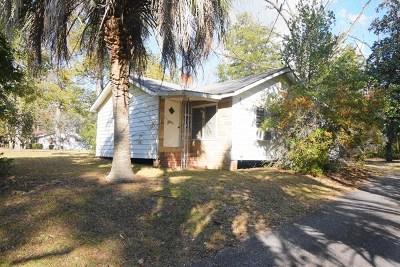 Waycross Single Family Home For Sale: 1908 Darling Ave