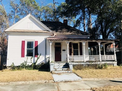 Single Family Home For Sale: 604 Ware Street