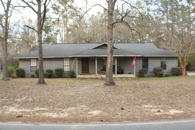 Blackshear GA Single Family Home For Sale: $149,000