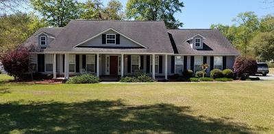 Blackshear GA Single Family Home For Sale: $234,900
