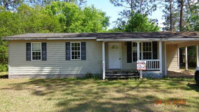 Jesup Single Family Home For Sale: 1036 Shrine Club Rd
