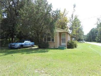 Waycross GA Single Family Home For Sale: $25,000