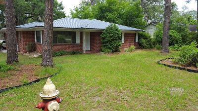 Waycross Single Family Home For Sale: 1201 Morningside Dr