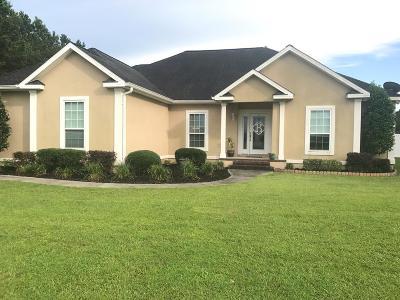 Blackshear Single Family Home For Sale: 1322 Whitney Lake Road