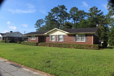 Waycross GA Single Family Home For Sale: $69,900