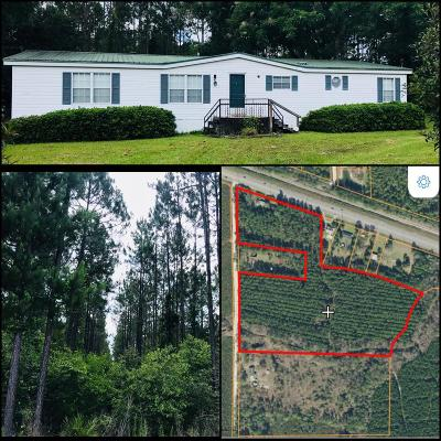 Waycross GA Single Family Home For Sale: $169,900
