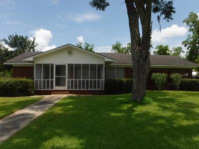 Blackshear Single Family Home For Sale: 408 W Carter Ave