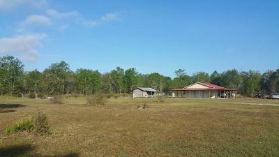 Patterson GA Single Family Home For Sale: $69,500
