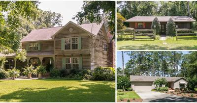 Waycross Single Family Home For Sale: Nut Tree Farm