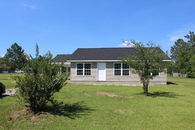 Blackshear GA Single Family Home For Sale: $109,900