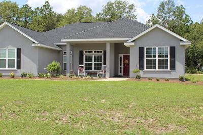 Waycross GA Single Family Home For Sale: $229,000
