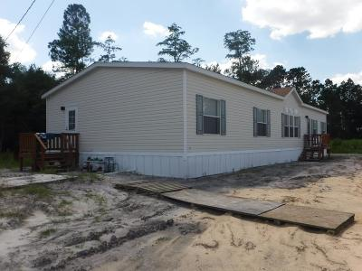 Waycross Single Family Home For Sale: 3906 Memorial Drive