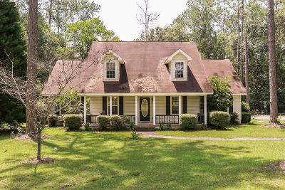 Blackshear GA Single Family Home For Sale: $169,000