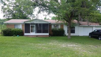 Waycross Single Family Home For Sale: 2055 Alma Hwy