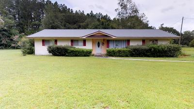 Blackshear Single Family Home For Sale: 6432 Youmans Chapel Rd