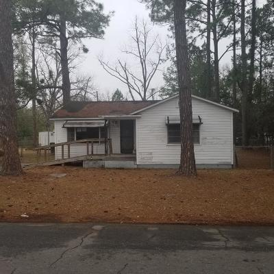 Waycross GA Single Family Home For Sale: $12,900