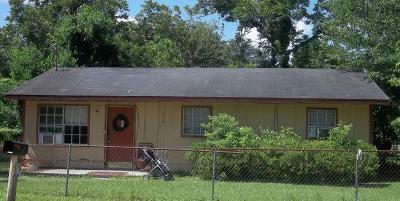 Waycross Single Family Home For Sale: 719 Martin Luther King Dr.